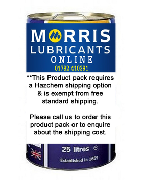 Hazchem shipping option required