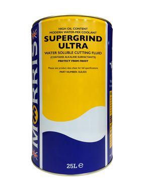 25 litre drum of Supergrind Ultra Grinding Fluid
