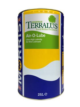 25 litre drum of Terralus Air O Lube
