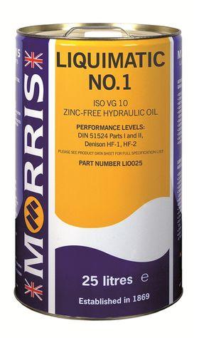 Liquimatic No 1 ISO 10 Hydraulic Oil